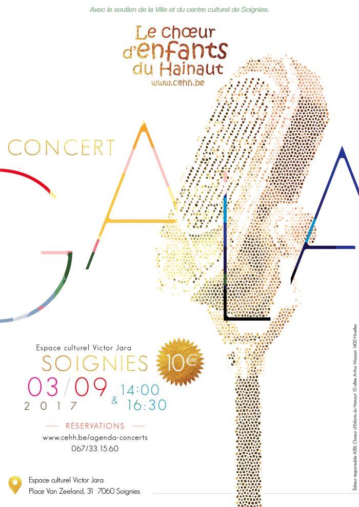 Affiche CEH concert gala